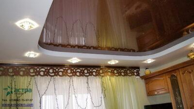 Двухуровневый потолок калуга