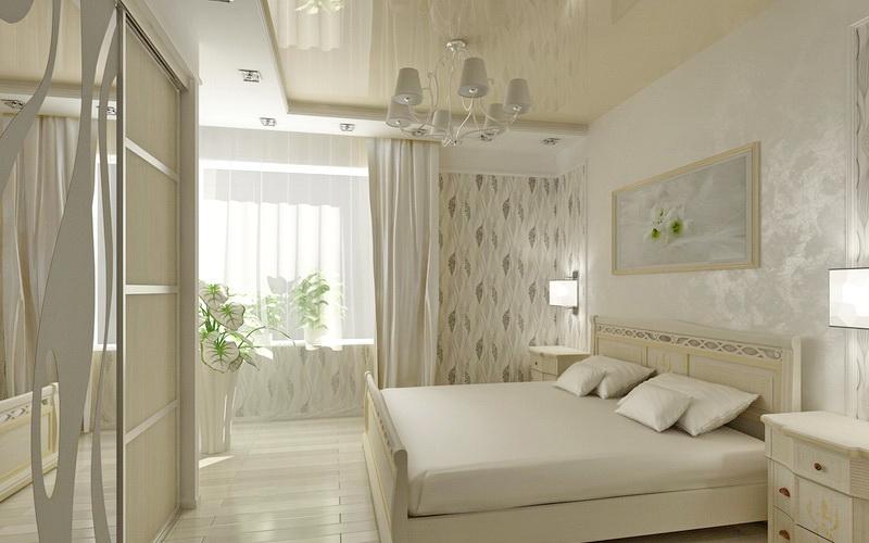 Фотография потолка в спальню