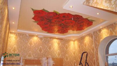 Фотопечать крассные розы