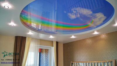 Радуга на потолке