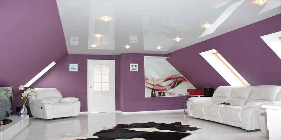гляныевый натяжной потолок в калуге