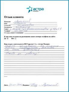 Отзыв Лукьянов 2015