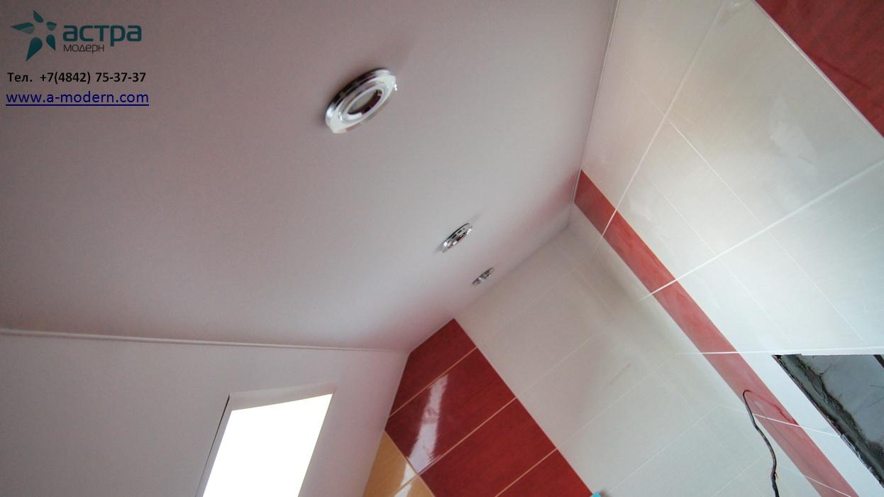 Фото потолка на мансарде