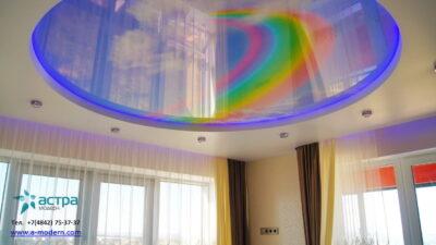 Натяжной потолок с подсветкой калуга