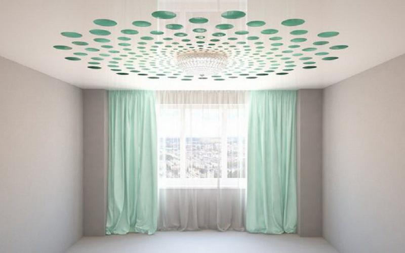 Пример резного потолка