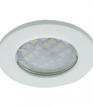 Светильник Ecola Light MR16 GU5.3 плоский Белый