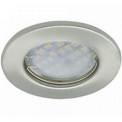 Светильник Ecola Light MR16 GU5.3 плоский Сатин-Хром
