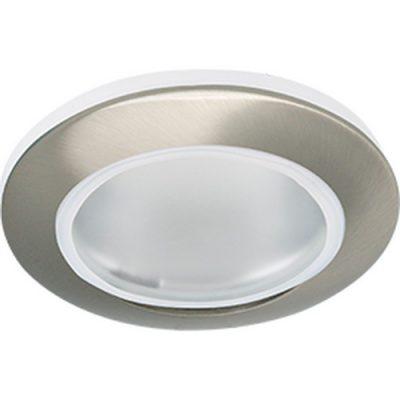 Светильник влагозащищенный Ecola MR 16, IP65, сатин-хром