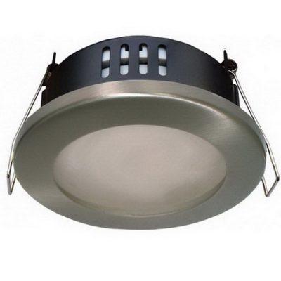 Светильник защищенный gx 53 сатин хром