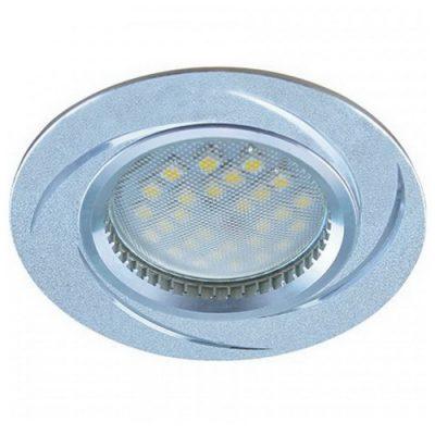 Светильник Ecola MR16 GU5.3 встр. литой. Вихрь. Алюминий