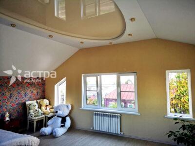 Двухуровневый натяжной потолок 1-5
