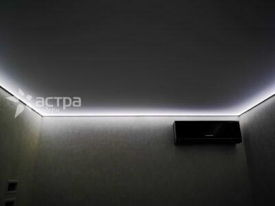 натяжной потолок с подсветкой 1-3