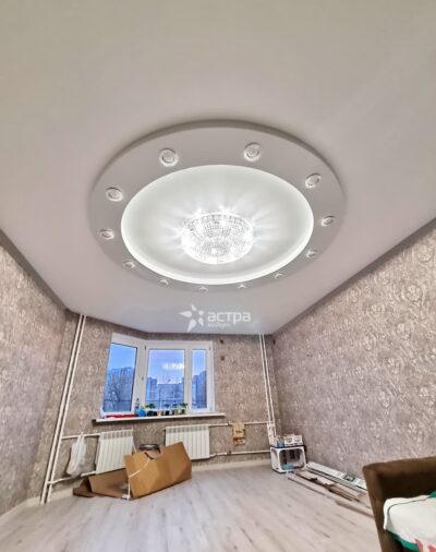 Фото натяжного потолка астра модерн 1-2